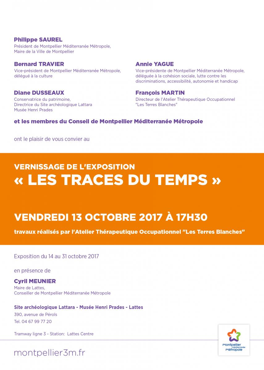 vendredi 13 octobre 2017 vernissage de l 39 exposition les traces du temps de l 39 ato les terres. Black Bedroom Furniture Sets. Home Design Ideas