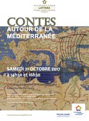 Le samedi 21 octobre 2017 à 14h30 et à 16h30, venez nombreux assister aux séances de contes au Site archéologique Lattara-musée Henri Prades de Lattes