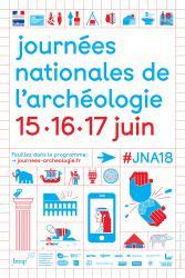 """16 et 17 juin 2018, """"Les Journées Nationales de l'Archéologie"""" au Site archéologique Lattara-musée Henri Prades à Lattes"""