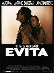 """Vendredi 16 février 2018 à 19h, Projection du film """"Evita"""" de Alan Parker au site archéologique Lattara-musée Henri Prades de Lattes"""