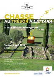 """Dans le cadre de La Métropole en Jeux, le musée Henri Prades vous propose une """"Chasse au trésor à Lattara"""" le samedi 6 avril 2019, de 15h à 17h sur le site archéologique."""