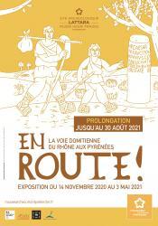 """L'exposition """"En route ! La Voie Domitienne du Rhône aux Pyrénées"""" sera présentée jusqu'au 30 août 2021 au Site archéologique Lattara-musée Henri Prades de Montpellier Méditerranée Métropole"""