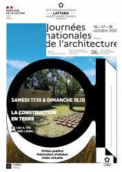 17 et 18 octobre 2020 > Journées Nationales de l'Architecture au Site archéologique Lattara-musée Henri Prades à Lattes