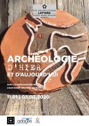 """Vendredi 10 janvier 2020 > Vernissage de l'exposition """"Archéologie d'hier et d'aujourd'hui"""" par les résidents de l'Archipel de Massane"""
