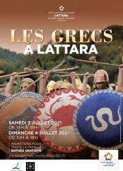 Samedi 3 et dimanche 4 juillet 2021 Les Grecs débarquent à Lattara ! Un week-end d'animation pour toute la famille au Site archéologique Lattara-musée Henri Prades à Lattes