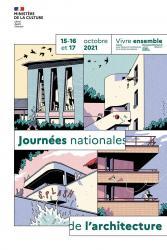 16 et 17 octobre 2021 > Journées Nationales de l'Architecture au Site archéologique Lattara-musée Henri Prades