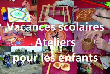 du 10 juillet au 31 août 2017, ateliers pour les enfants au site archéologique Lattara-musée Henri Prades à Lattes