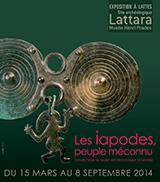 Exposition Les Iapodes, peuple méconnu. Collections du musée de Zagreb. Du 15 mars au 8 septembre 2014 au site archéologique Lattara musée Henri Prades