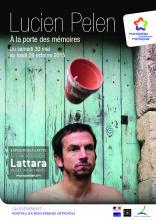 """""""Lucien Pelen. À la porte des mémoires"""", une exposition d'art contemporain en dialogue avec la collection permanente et présentée au site archéologique Lattara-musée Henri Prades du 30 mai au 26 octobre 2015."""